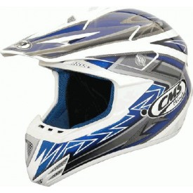 HEŁM CMS CROSS XR-7 EVO BLUE/WHITE XL CMS000248
