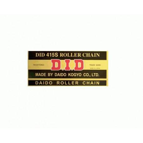 DID ŁAŃCUCH NAPĘDOWY DID415S-1