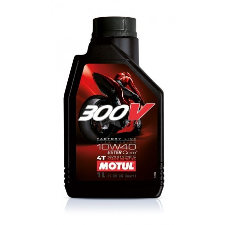 OLEJ MOTUL 300V 10W-40 1L. FACTORY LINE DOUBLE ESTER OLM000027