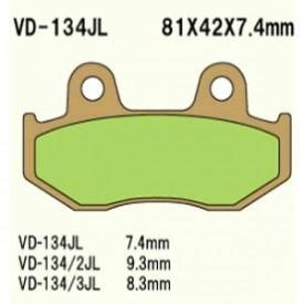 KLOCKI HAMULCOWE VESRAH VD-134/2JL