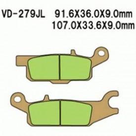 KLOCKI HAMULCOWE VESRAH VD-279JL
