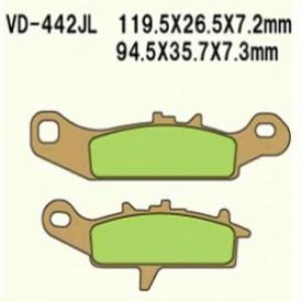 KLOCKI HAMULCOWE VESRAH VD-442JL