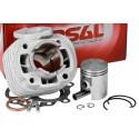 Cylinder Kit Airsal Sport 50cc, Minarelli leżące AC (bez głowicy)