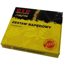 ZESTAW NAPĘDOWY SUZUKI GN125E 99-00 DID428VX 124 SUNF211-14 SUNR1-2058-42