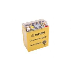 Akumulator AGM (I-Gel) MTX7L-BS Moretti ze wskaźnikiem