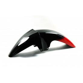 Obudowa - błotnik przedni czarno-czerwony do motoroweru Sprint 2