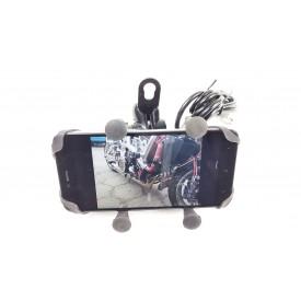 Uchwyt Motocyklowy na telefon z USB