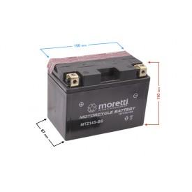 Akumulator kwasowo-ołowiowy MTZ14S Moretti