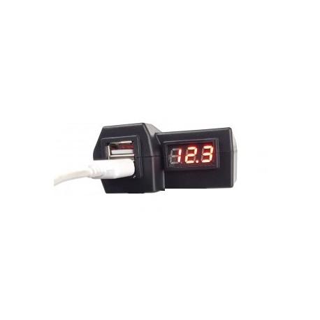 Gniazdo USB na kierownicę motocykla