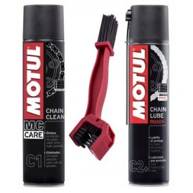MOTUL C1 C2+ SMAR + CZYSCIWO 400ml CLEANER do Łańcucha