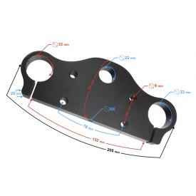Półka zawieszenie przedniego do Minicrossa DB14