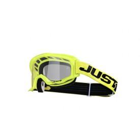 Gogle motocyklowe Just1 Vitro żółto(fluorescencyjny)-czarne