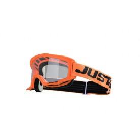 Gogle motocyklowe Just1 Vitro pomarańczowo-czarne