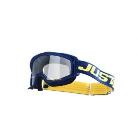 Gogle motocyklowe Just1 Vitro niebiesko-żółte