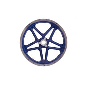 Felga przednia 10-2,5 z hamulcem tarczowym do MiniCross DB10SA Niebieska