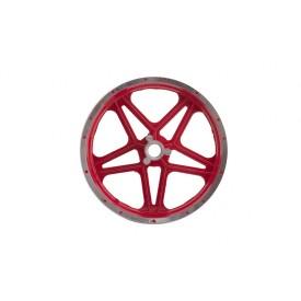 Felga tylna 10-2,5 z hamulcem tarczowym do MiniCross DB10SA Czerwona