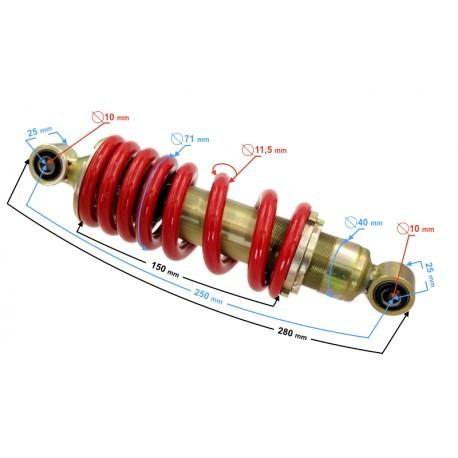 Amortyzator tylny do motoroweru FR 2