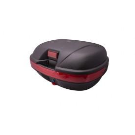 Kufer BT800, 43 l., czarny, czerwony odblask