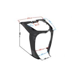 Obuowa - łącznik obudowy reflektora czarny do skutera Energy