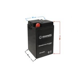 Akumulator AGM (Gel) B49-6 Moretti