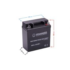 Akumulator AGM (Gel) MB5L-BS Moretti