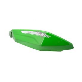 Obudowa tylna lewa zielona do motocykla Travel 125