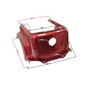 Obudowa centralna skuterTres czerwona