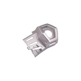 Obudowa Wylotu tłumika, prawa srebrna do Hyper 125