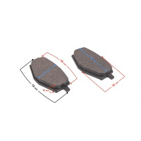 Klocki hamulcowe (Zamiennik EBCFA101)