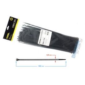 Opaska zaciskowa BOSMA 4,8*300 mm BLACK (100 pcs)