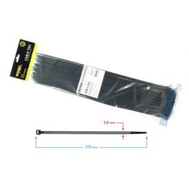 Opaska zaciskowa BOSMA 3,6*370 mm black (100 pcs)