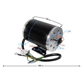 Silnik elektryczny do ATV 500G