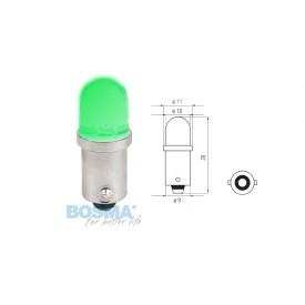 Żarówka BOSMA 12V 1*LED STANDARD BA9s GREEN BLISTER ( 2 szt. )