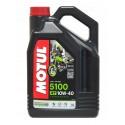 Olej silnikowy Motul 5100 4T 10W40 4L Ester