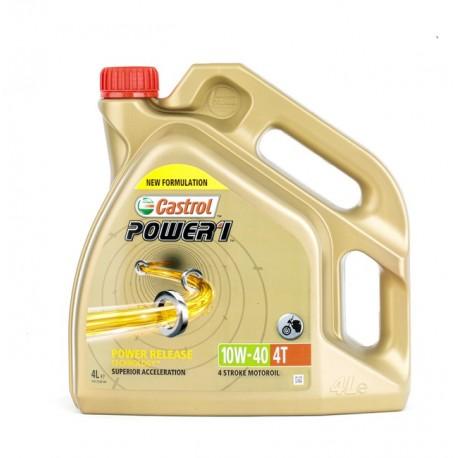 Olej silnikowy półsyntetyczny CASTROL POWER 1 4T 10W40 4L