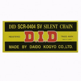 DID ŁAŃCUCH ROZRZĄDU DIDSCR0404SV-100
