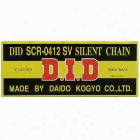 DID ŁAŃCUCH ROZRZĄDU DIDSCR0412SV-150