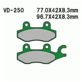 KLOCKI HAM. KYMCO S9/BW50/NDINK PRZ. 4510A-KW6-9000 KHT000250