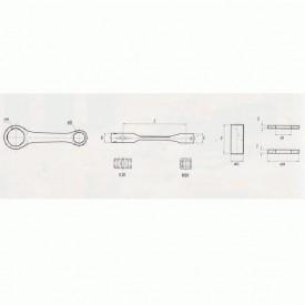 KORBOWÓD MOTOCYKLOWY SUZUKI RM 125 (97-98) KRJ6001086