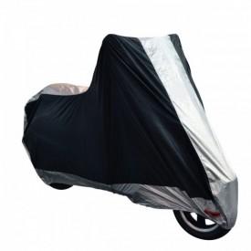 POKROWIEC MOTOCYKLOWY WODOODPORNY CZARNO/SREBRNY ROZMIAR XL OF926XL