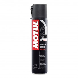 SMAR DO ŁAŃCUCHÓW PLUS MOTUL CHAIN LUBE ROAD PLUS 400ML. OLM000020