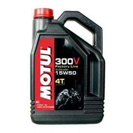 OLEJ MOTUL 300V 15W-50 4L. FACTORY LINE DOUBLE ESTER OLM000028