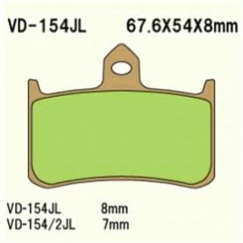 KLOCKI HAMULCOWE VESRAH VD-154/2JL