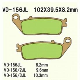 KLOCKI HAMULCOWE VESRAH VD-156/3JL