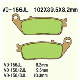 KLOCKI HAMULCOWE VD-156JL (FA226)