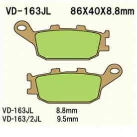 KLOCKI HAMULCOWE VESRAH VD-163/2JL