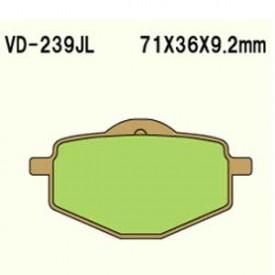 KLOCKI HAMULCOWE VESRAH VD-239JL