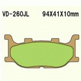 KLOCKI HAMULCOWE VESRAH VD-260JL
