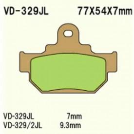 KLOCKI HAMULCOWE VESRAH VD-329JL