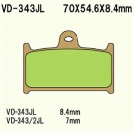 KLOCKI HAMULCOWE VESRAH VD-343/2JL